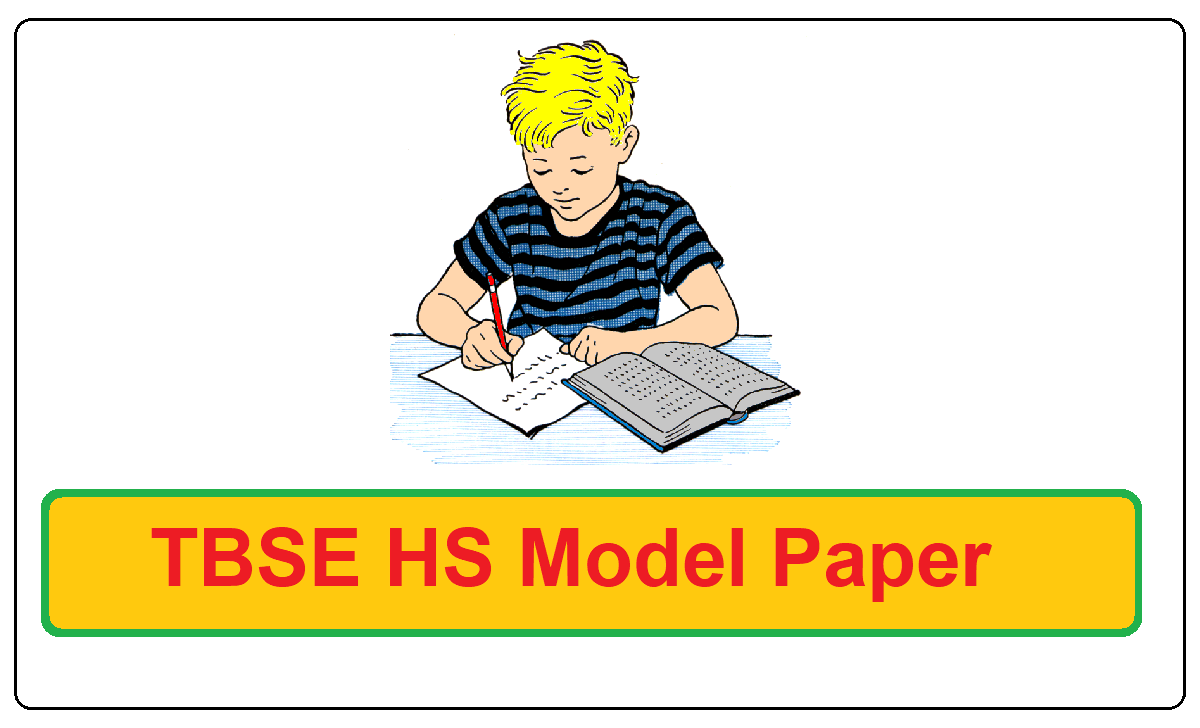 TBSE HS Model Paper 2021